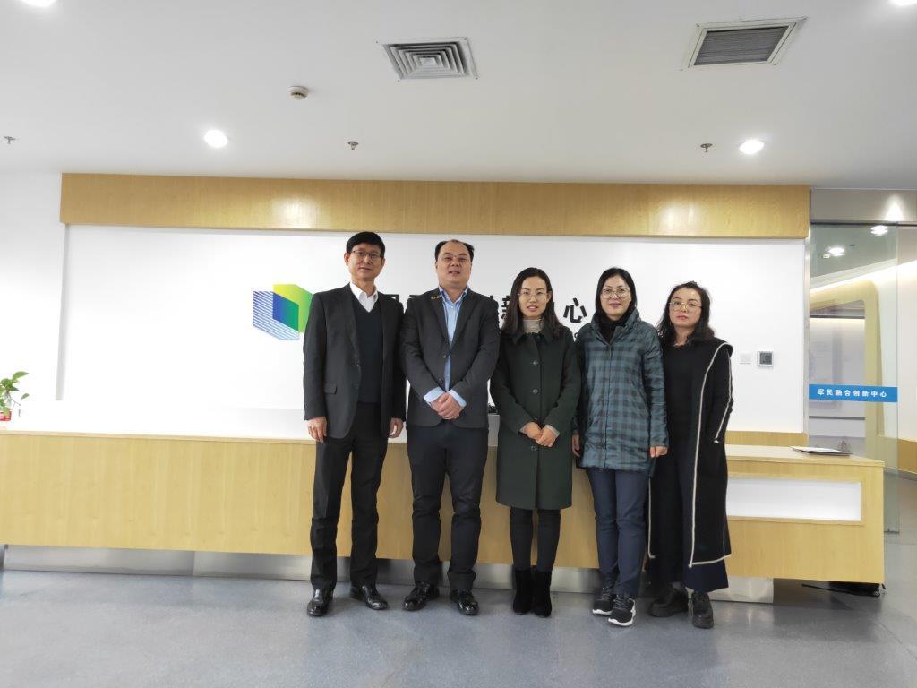 玉环市科学技术协会与浙江省海创科技交流研究院拜访中国科学技术大学先进技术研究院